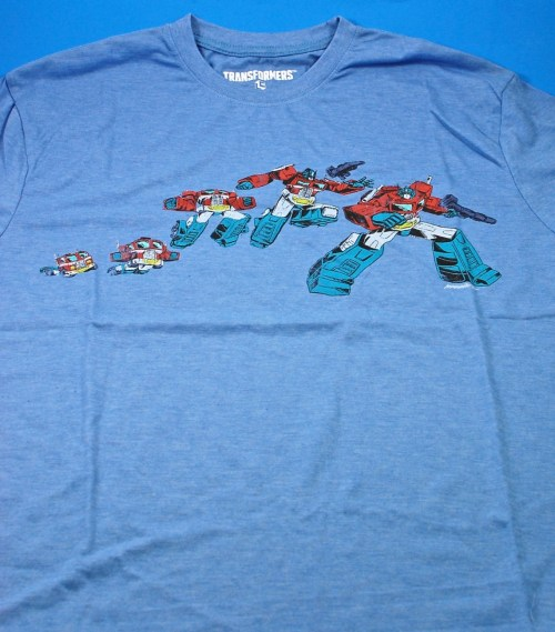 Loot Crate Transformers shirt