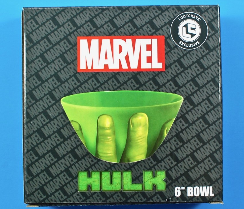 Marvel Hulk bowl