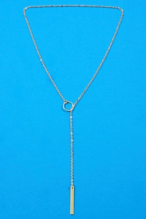 Stash lariat necklace