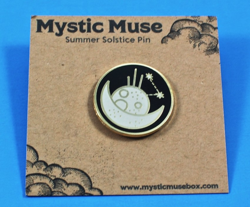 Mystic Muse pin