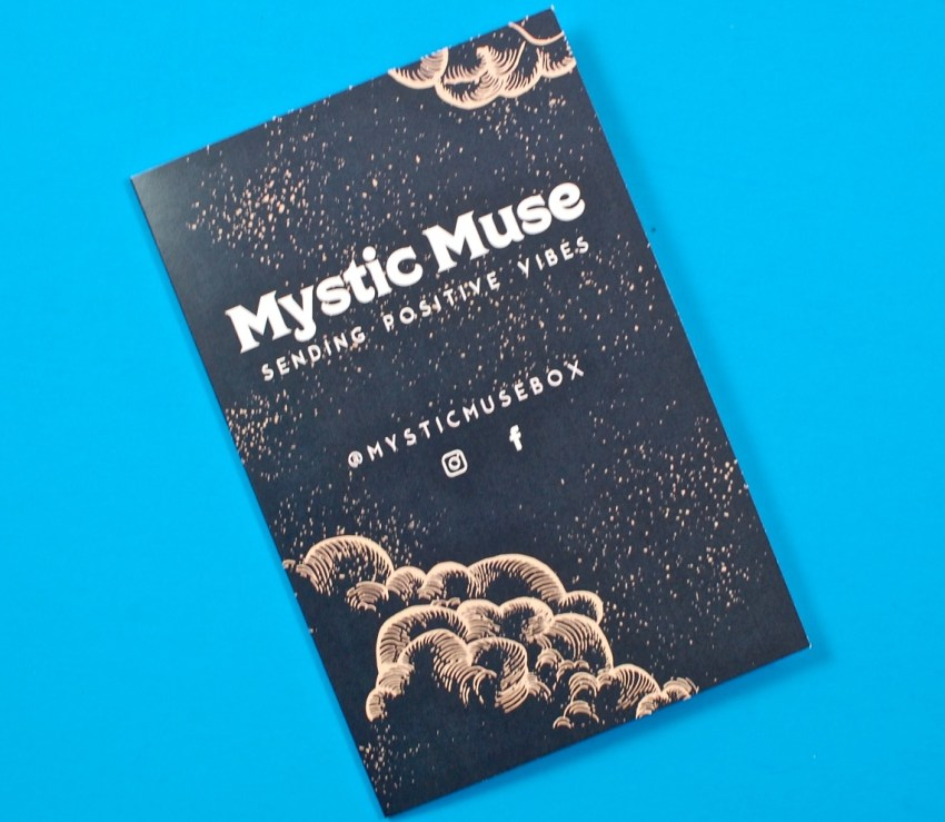 Mystic Muse contents