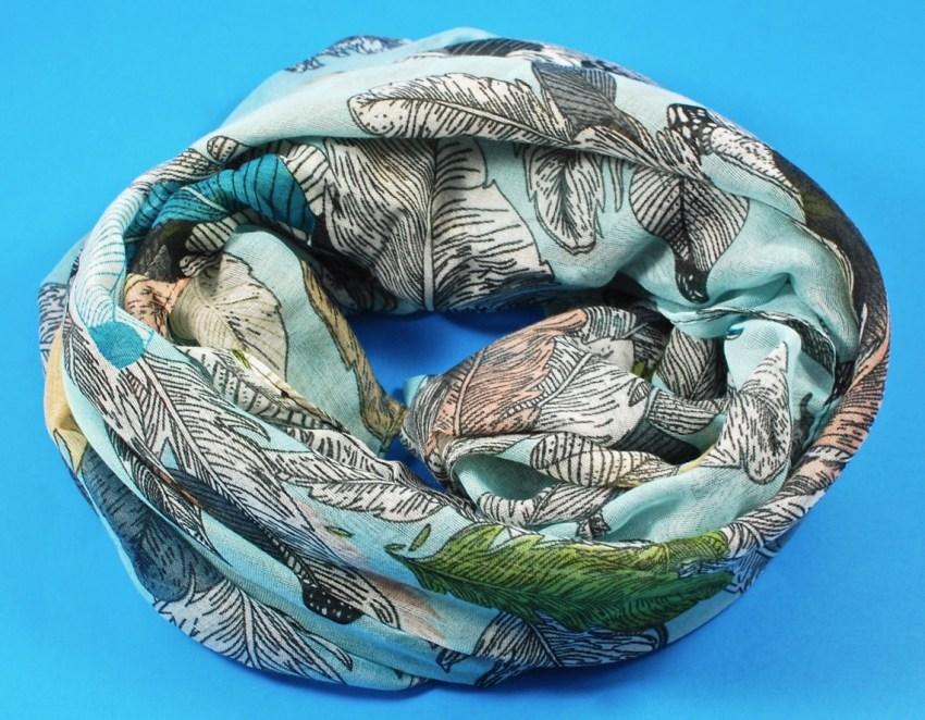 leaf scarf