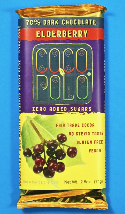 Coco Polo elderberry bar