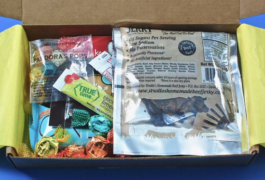 sugar free subscription box