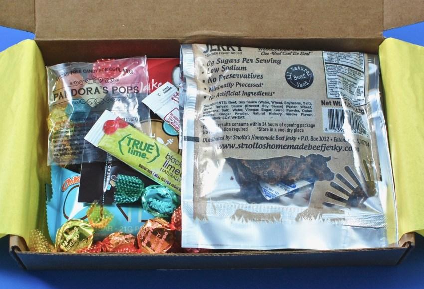 sugar free subscription box