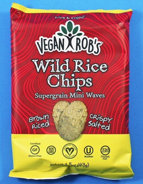 Vegan Rob's Wild Rice Chips
