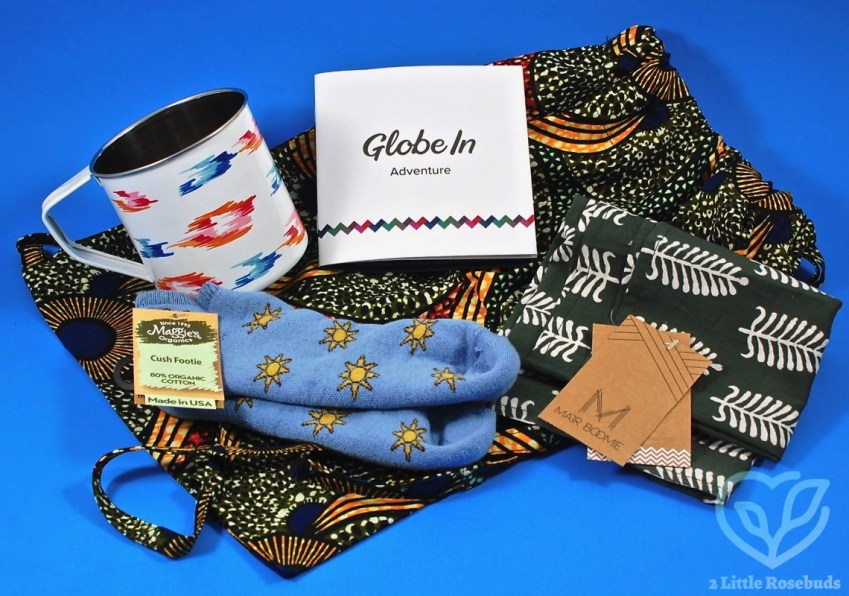 "GlobeIn Artisan Box July 2017 ""Adventure"" Box Review & Coupon Code"