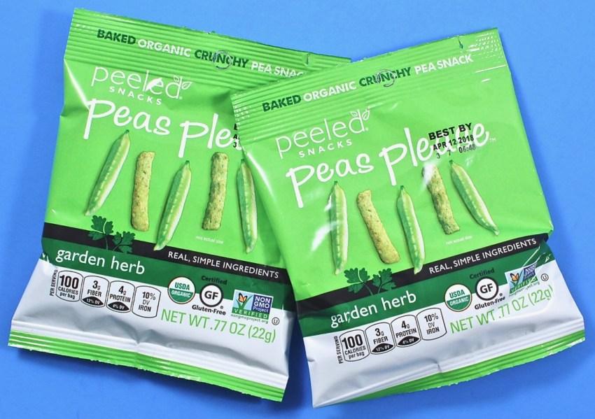 Peeled Snacks peas