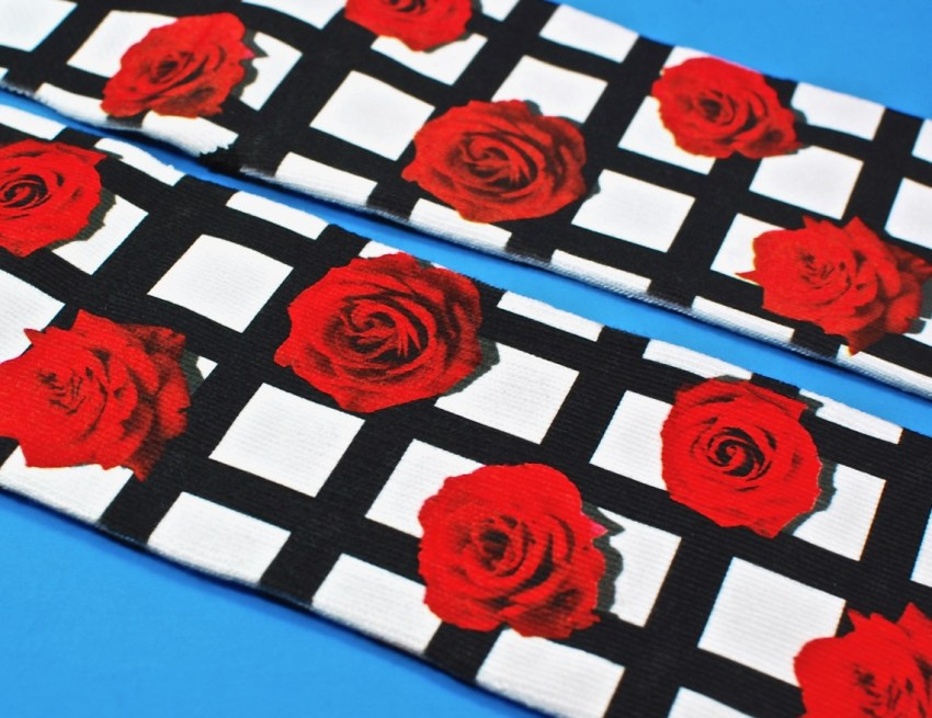 roses socks