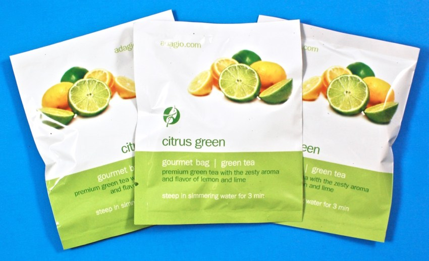 Citrus Green Adagio tea