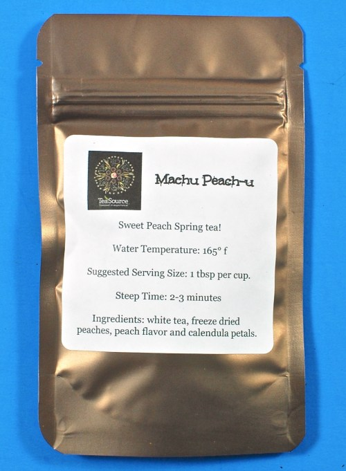 Machu Peach-u tea