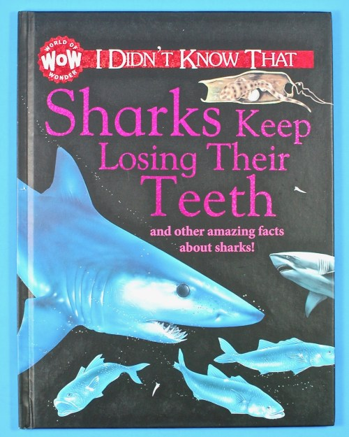 shark facts book