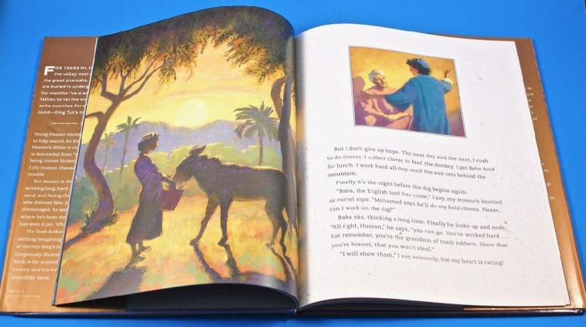 Tomb Robber and King Tut book