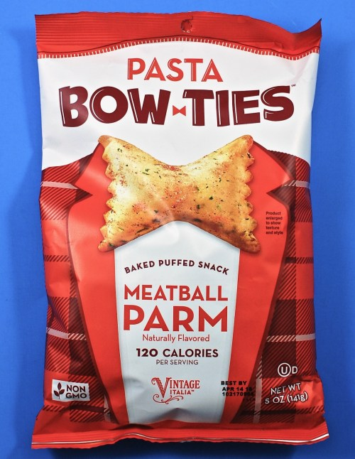 Pasta Bow-ties meatball parm
