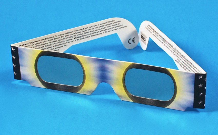 Solar eclipse 2017 glasses