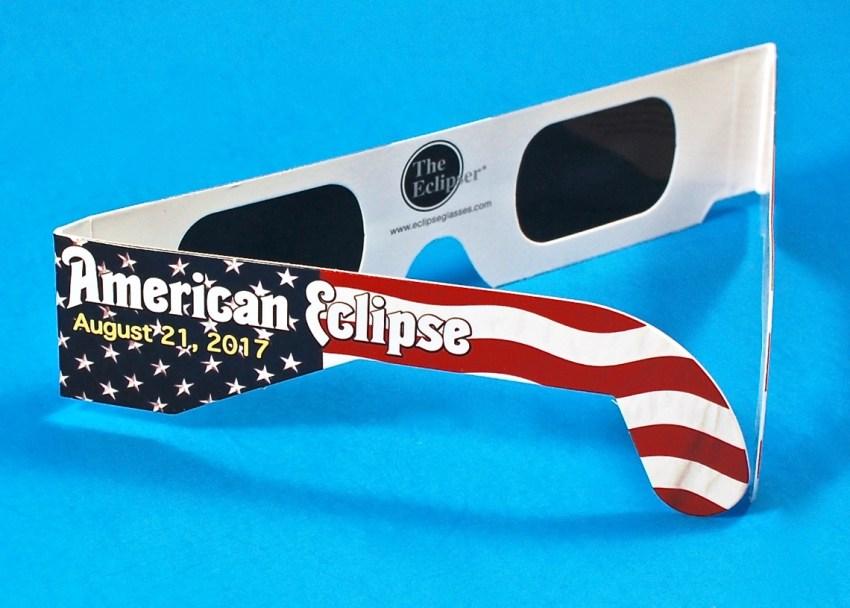 American Eclipse 2017 glasses