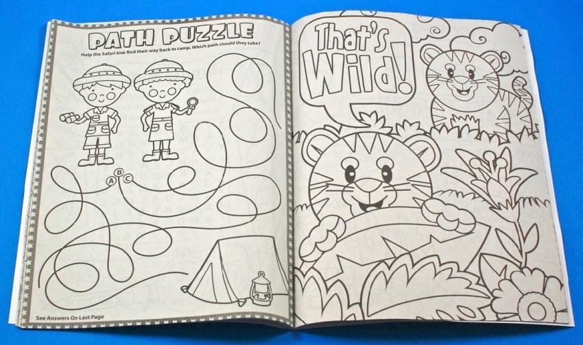 Jungle Adventure Coloring Book