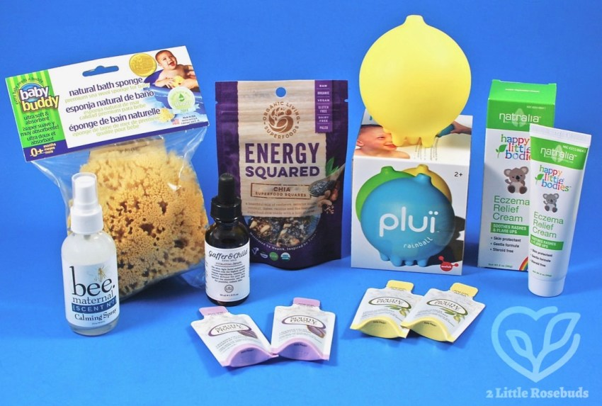 "Ecocentric Mom August 2017 ""Mom & Baby"" Box Review & Coupon Code"