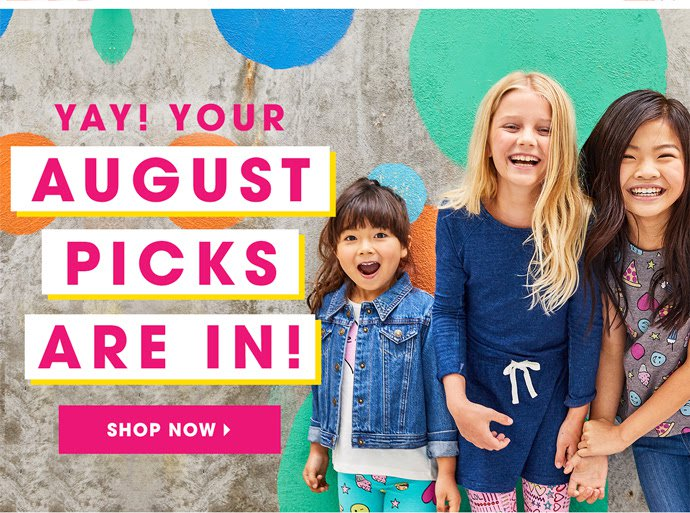 FabKids August 2017 Outfit Reveals & BOGO Offers