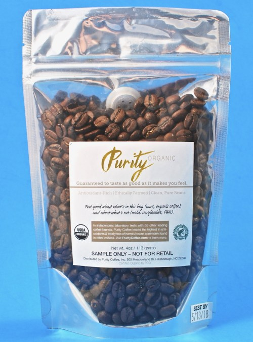Purity coffee beans