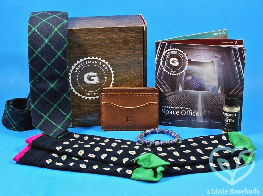 Gentleman's Box August 2017 Subscription Box Review & Coupon Code