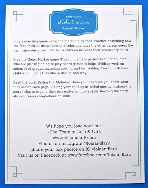 Lola & Lark review