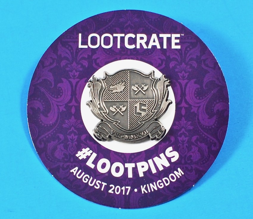 August 2017 Loot pin
