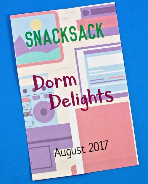 Snack Sack box review