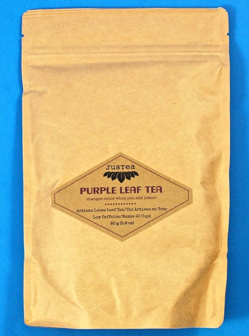 Justea Purple leaf tea