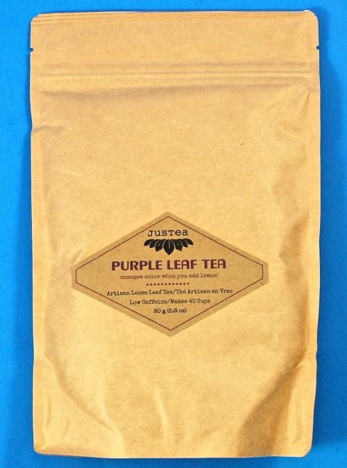 Justea Purple leaf tea