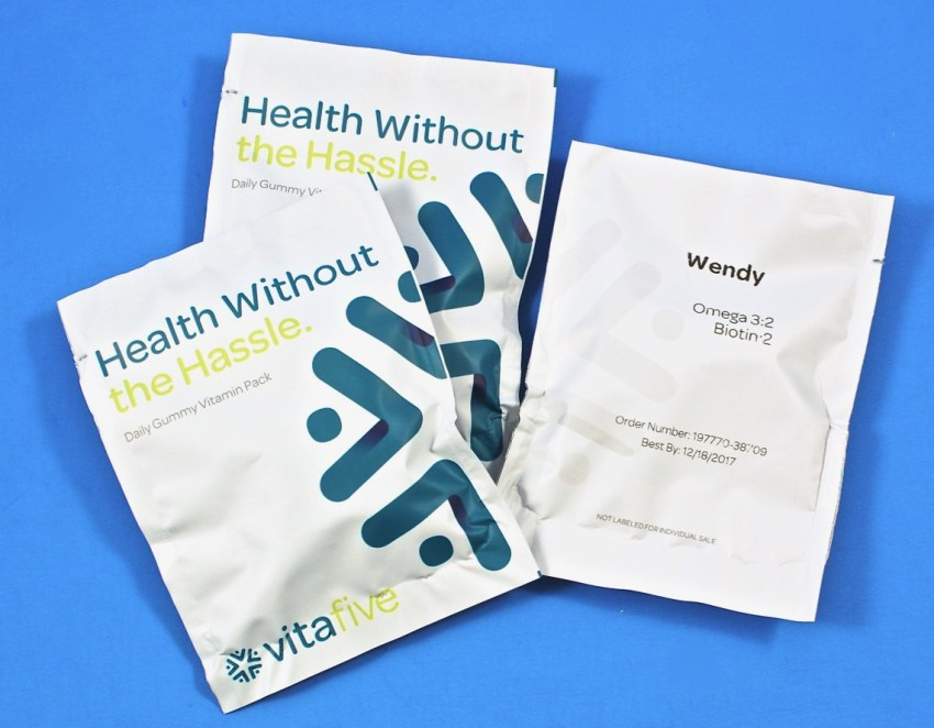 Vitafive packs
