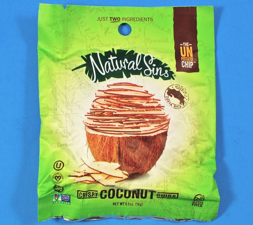 Natural Sins coconut chips