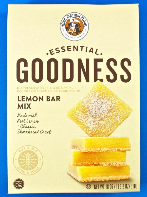 lemon bar mix
