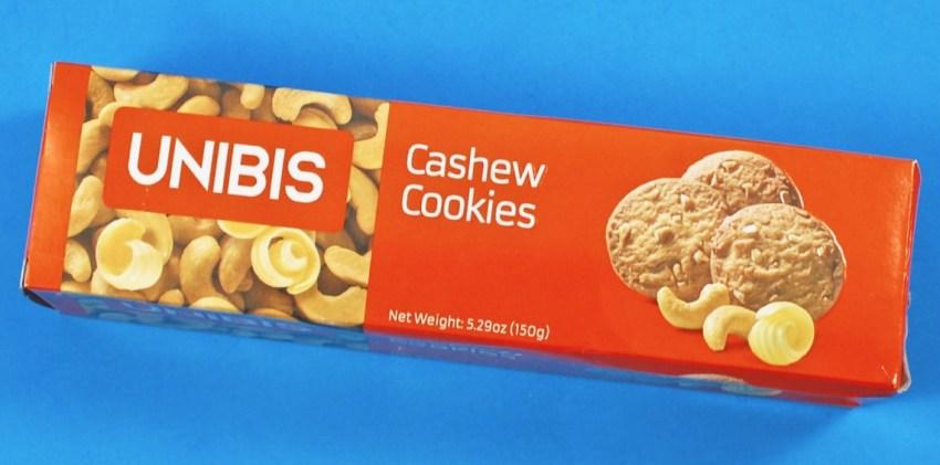 unibis cashew cookies