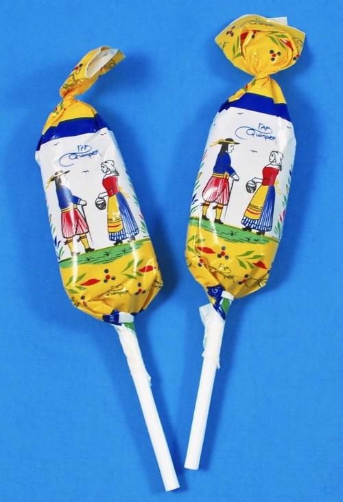 Bonbons Barnier caramel lollipops