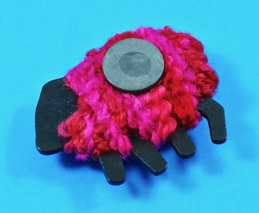 wool sheep magnet