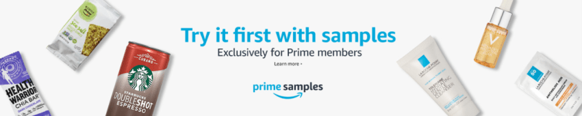 New Amazon Prime Samples – FREE After Credit!