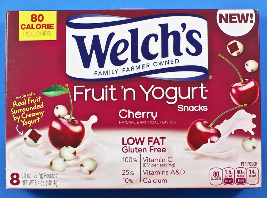Welch's fruit n' yogurt