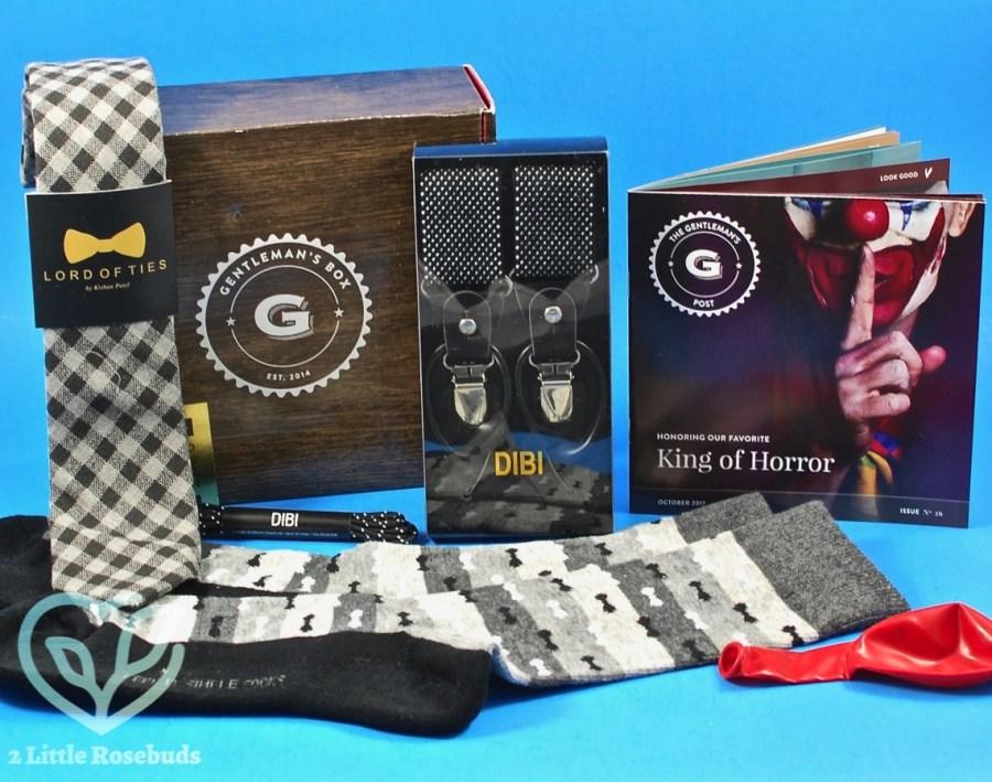 October 2017 Gentleman's Box review