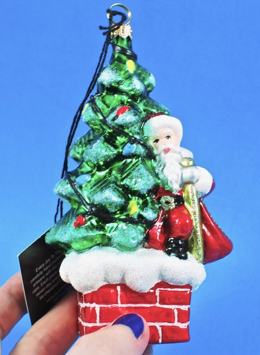 Joy to the World tree ornament