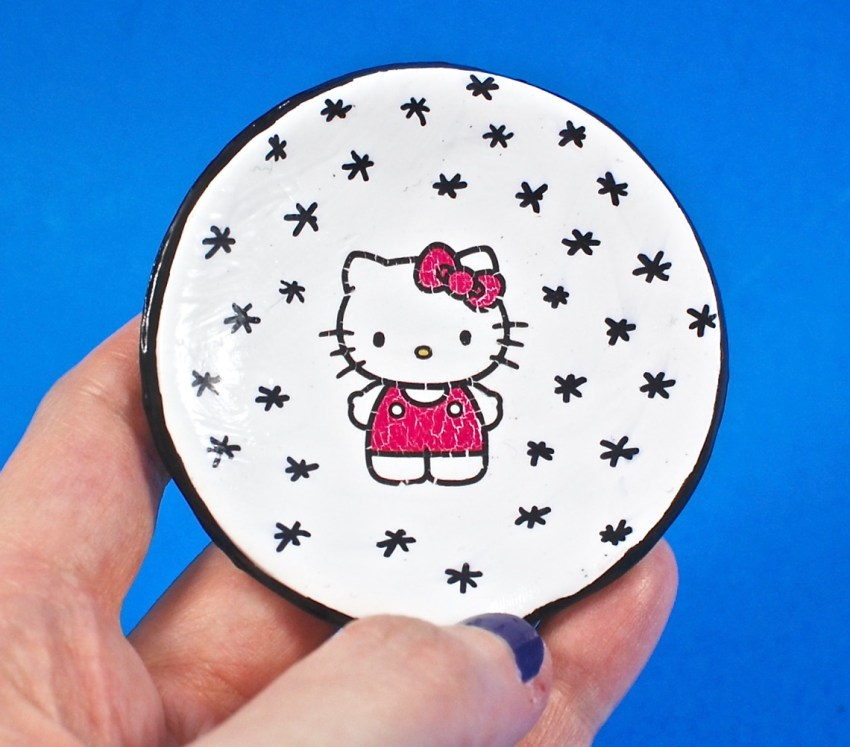 hello kitty jewelry dish
