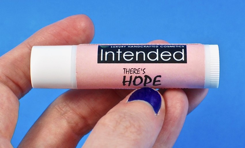 Intended Cosmetics lip balm
