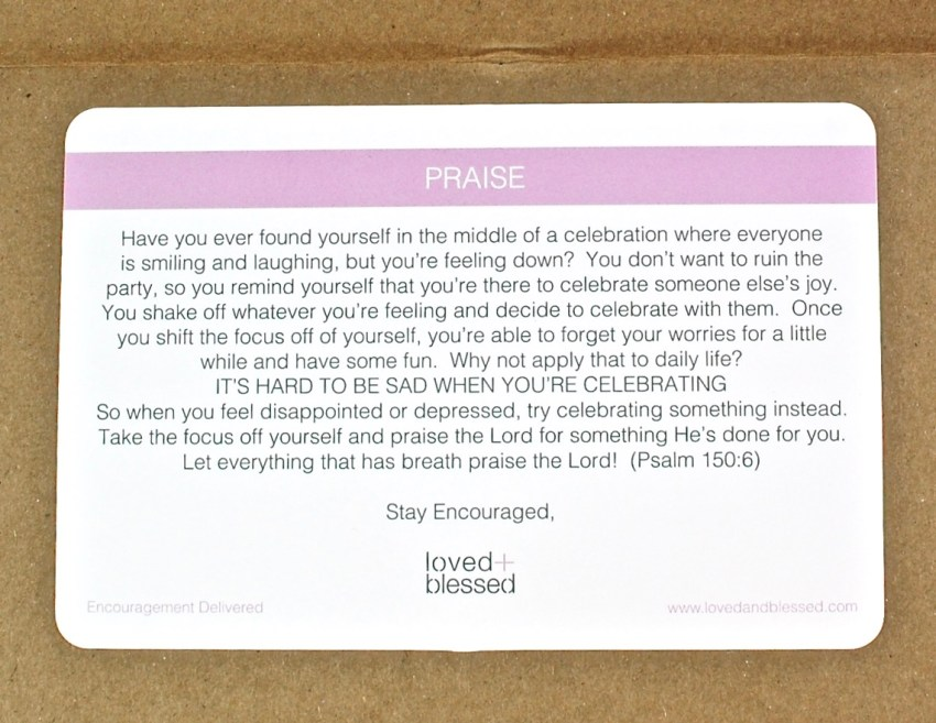 loved and blessed box coupon
