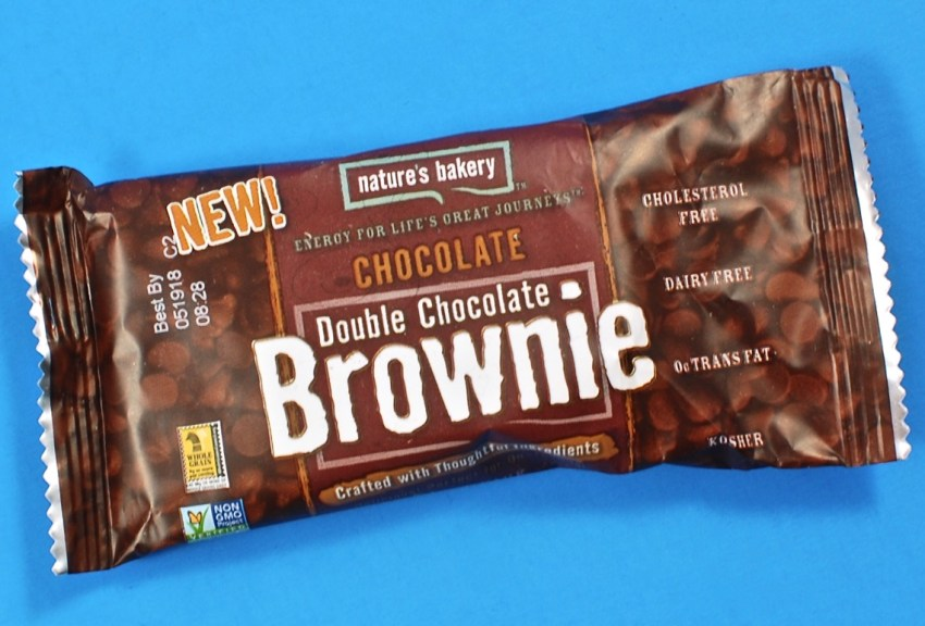 Nature's Bakery brownie