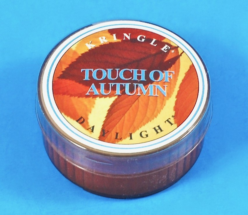 touch of autumn candle