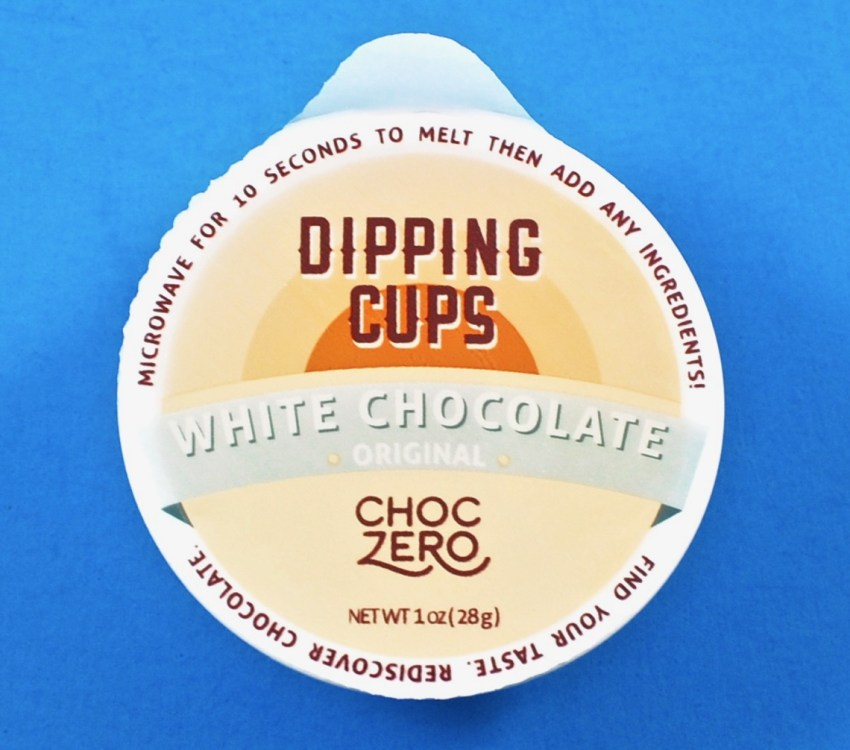 Choc Zero dipping cup