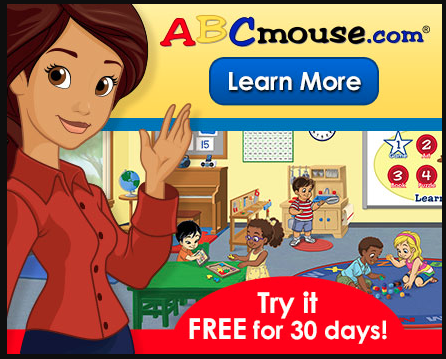 ABC Mouse free 30 day trial subscription