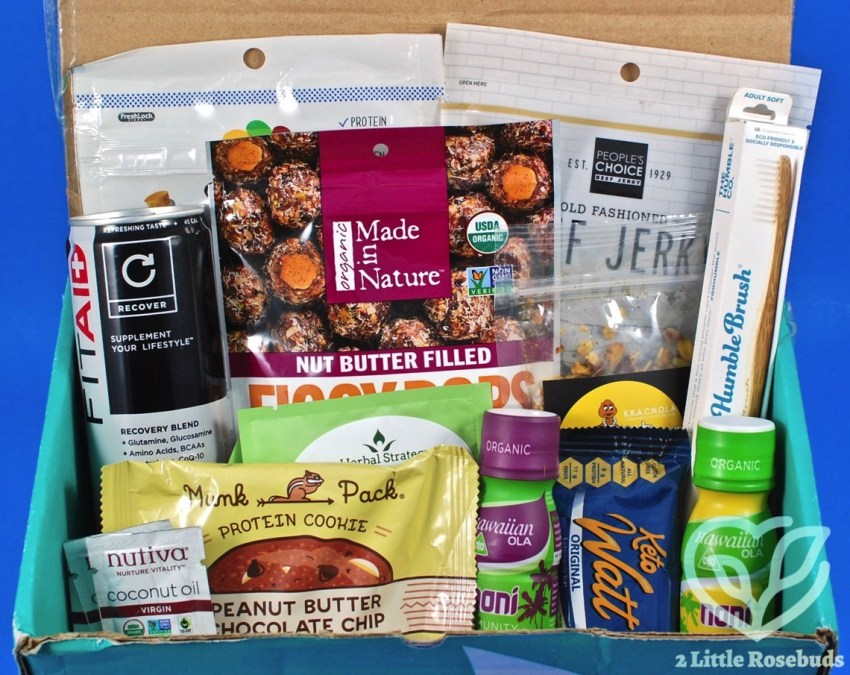 November 2017 Fit Snack review