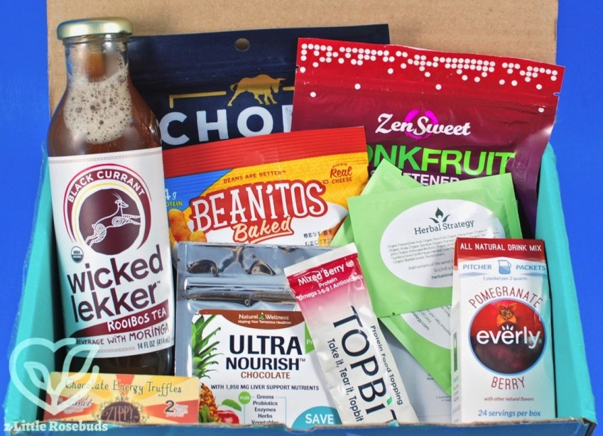 October 2017 Fit Snack review