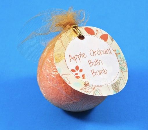 apple orchard bath bomb
